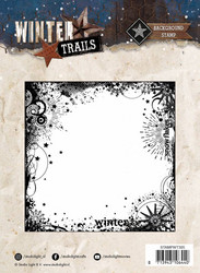 Studio Light leima 13,9x13,9cm Winter Trails nr 305 STAMPWT305