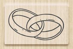 Knorr Prandell puukantainen leimasin sormukset