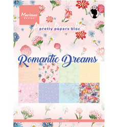 Marianne Design paperilehtiö Romantic Dreams a5