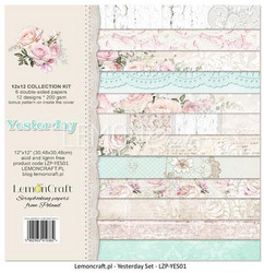 Lemoncraft Yesterday Collection kit paperisetti 12x12