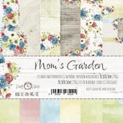 Craft O´Clock Mom´s Garden paperisetti 30,5x30,5cm 6kpl