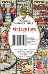 Decorer korttikuvat vintage toys 24kpl
