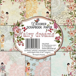 Decorer paperikko Fairy Dreams 6x6