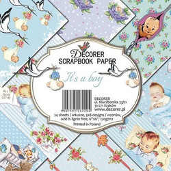 Decorer paperikko It´s a boy 6x6