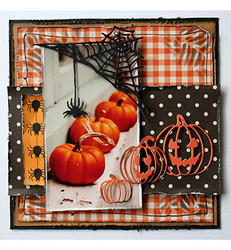 Joy Craft stanssit Halloween spider