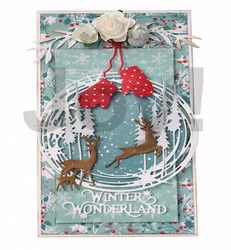 Joy Craft stanssit peurat Nordic Christmas Deers
