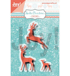 Joy Craft stanssit peurat Nordic Christmas Deers