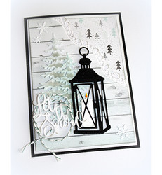 Joy Craft stanssit Silent Night Lantern