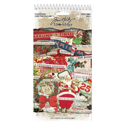 Idea-ology Tim Holtz tarrakirja Christmas 335pcs (TH93999)