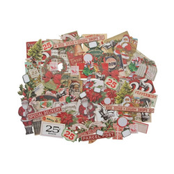 Idea-ology Tim Holtz Ephemera Snippets kuvat Christmas 81kpl TH94009