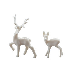 Idea-ology Tim Holtz Decorative Deer koristepeurat 12pcs TH93994