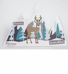 Marianne Design Deer by Marleen peurastanssi CR1485
