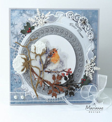 MARIANNE DESIGN stanssit Petra's Winter Circle lr0627
