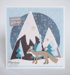 Marianne Design Fox by Marleen kettustanssi CR1484