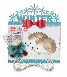 Joy Craft stanssi Winterborder