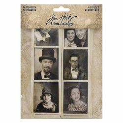 Tim Holtz Idea-ology Photobooth vintagekuvat 40kpl  TH93799