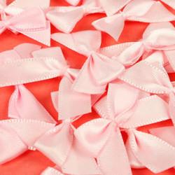 Satiinirusetit vaaleanpunainen 20kpl Simply Creative