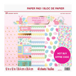 Craft Smart paperikko Spring & Hop 12x12