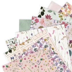 Papermania paperikko Pressed Flowers 6x6