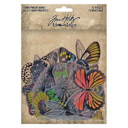 Tim Holtz Transparent Wings siivet 72kpl th93785