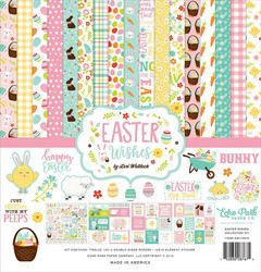 Echo Park Easter Wishes paperipakkaus Collection kit 12x12