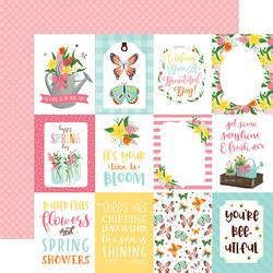Echo Park I Love Spring paperipakkaus Collection kit 12x12