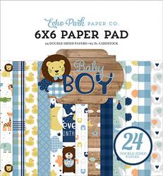 Echo Park paperikko Baby Boy 6x6