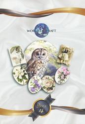 Korttikuvakirja World of craft 4 a4