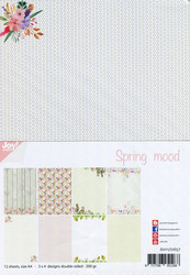 Joy Craft Spring Mood paperisetti 12kpl a4