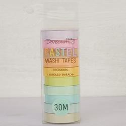 Washi koristeteipit Dovecraft Pastels 10kpl