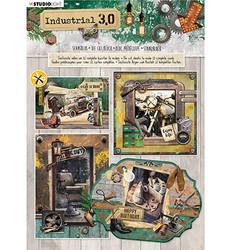 Studiolight Industrial 3.0, nr.89 stanssattu korttikirja a4