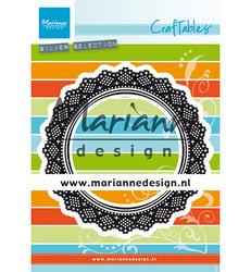 Marianne Design stanssi Shaker Doily pitsiympyrä cr1474