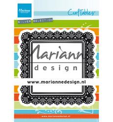 Marianne Design stanssi Shaker Square pitsineliö cr1475
