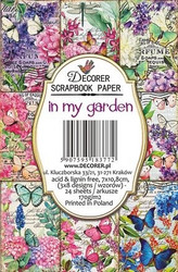Decorer korttikuvat In my garden  24kpl