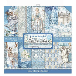Stamperia paperikko Winter Tales 12x12