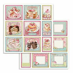 Stamperia paperilehtiö Sweety 12x12