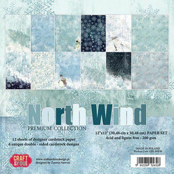 Craft & You paperikko North Wind 12x12
