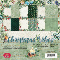 Craft & You paperikko Chrstmas Vibes 12x12