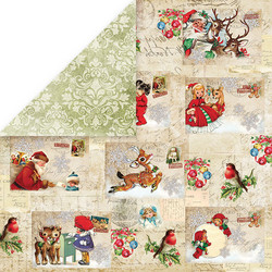 Craft & You paperikko North Pole 12x12