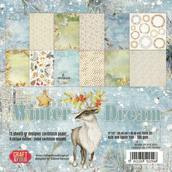 Craft & You paperikko Winter Dream 12x12
