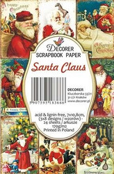 Decorer korttikuvat Santa Claus 24kpl