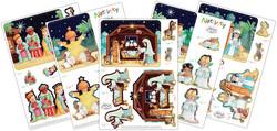 Craft Consortium Nativity 3D-kuvat a5 10kpl
