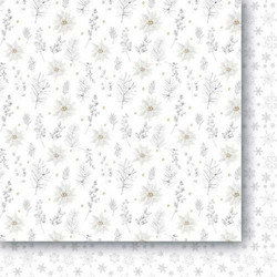 Paper Heaven White as Snow paperisetti 30,5x30,5cm 12kpl
