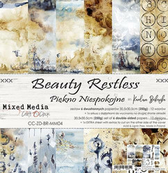 Craft O´Clock Beauty Restless paperisetti 30,5x30,5cm 6kpl