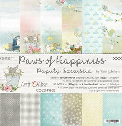 Craft O´Clock Paws of Happiness paperisetti 30,5x30,5cm 6kpl