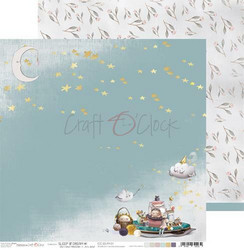 Craft O´Clock Sleep & Dream paperisetti 30,5x30,5cm 6kpl