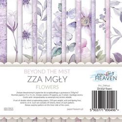 Paper Heaven paperikko Beyond the mist Flowers 6x6
