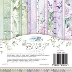 Paper Heaven kuviopaperikko Beyond the mist 6x6
