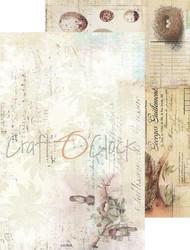 Craft O´clock paperikko Humminbird song a4