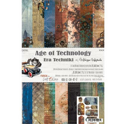 Craft O´clock paperikko Age of Technology a4